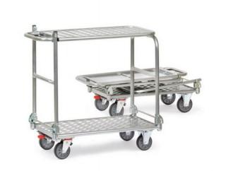 Chariot à dossier pliable aluminium - Devis sur Techni-Contact.com - 3