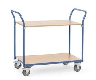 Chariot à étagère sans rebords - Devis sur Techni-Contact.com - 1