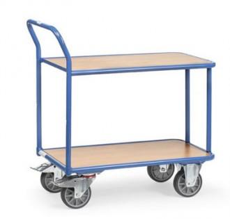 Chariot à étagère sans rebords - Devis sur Techni-Contact.com - 2