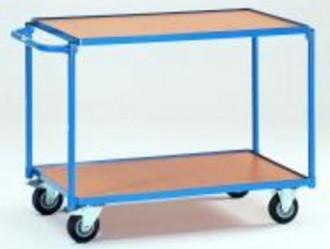 Chariot à étagère sans rebords - Devis sur Techni-Contact.com - 3
