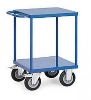 Chariot à étagère sans rebords - Devis sur Techni-Contact.com - 4
