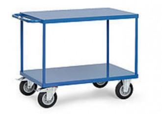 Chariot à étagère sans rebords - Devis sur Techni-Contact.com - 5