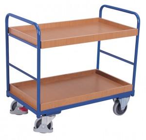 Chariot à étagères bas - Devis sur Techni-Contact.com - 2