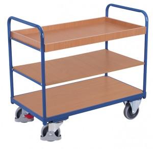 Chariot à étagères bas - Devis sur Techni-Contact.com - 3