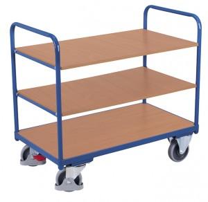 Chariot à étagères bas - Devis sur Techni-Contact.com - 4