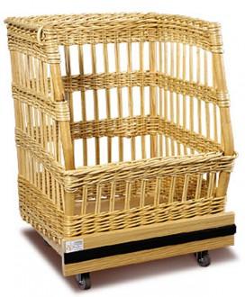Chariot à pain en osier - Devis sur Techni-Contact.com - 1