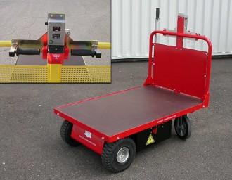 Chariot à plateau motorisé - Devis sur Techni-Contact.com - 1