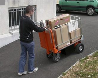 Chariot à plateau motorisé - Devis sur Techni-Contact.com - 2