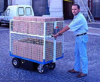 Chariot à plateau motorisé - Devis sur Techni-Contact.com - 3