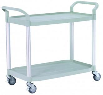 Chariot à plateaux plastiques - Devis sur Techni-Contact.com - 3