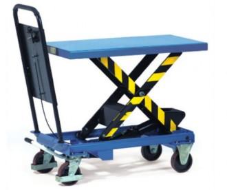 Chariot à plateforme élévatrice 1000 kg - Devis sur Techni-Contact.com - 1