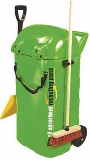 Chariot absorbant pour hydrocarbures - Devis sur Techni-Contact.com - 1