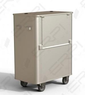 Chariot aluminium à déchets - Devis sur Techni-Contact.com - 2