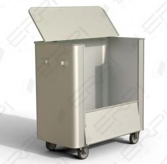 Chariot aluminium à déchets - Devis sur Techni-Contact.com - 3