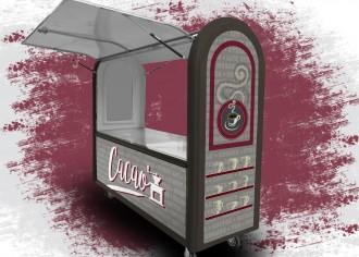 Chariot ambulant café - Devis sur Techni-Contact.com - 12