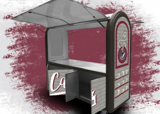 Chariot ambulant café - Devis sur Techni-Contact.com - 13
