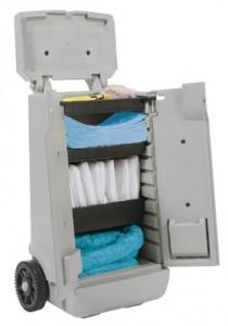 Chariot avec absorbants - Devis sur Techni-Contact.com - 2
