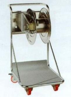 Chariot avec enrouleur manuel inox304 - Devis sur Techni-Contact.com - 1