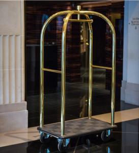 Chariot bagages pour hôtel - Devis sur Techni-Contact.com - 1