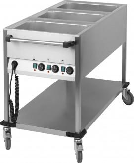 Chariot bain-marie 3 x GN 1/1 verticale - Devis sur Techni-Contact.com - 1
