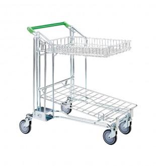 Chariot caddie de magasin - Devis sur Techni-Contact.com - 2