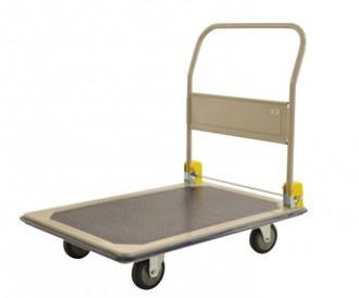 Chariot charge lourde à dossier pliable - Devis sur Techni-Contact.com - 1
