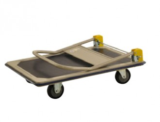 Chariot charge lourde à dossier pliable - Devis sur Techni-Contact.com - 2