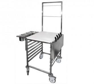 Chariot chef en inox - Devis sur Techni-Contact.com - 1