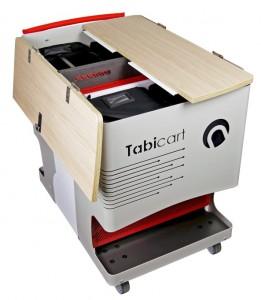 Chariot classe mobile avec sacoches de transport - Devis sur Techni-Contact.com - 2