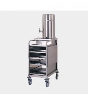 Chariot cuisine à 5 plateaux amovibles - Devis sur Techni-Contact.com - 1