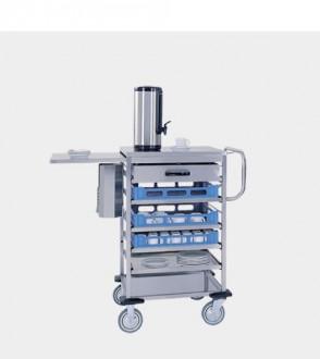 Chariot cuisine inox de paniers à vaisselle - Devis sur Techni-Contact.com - 1