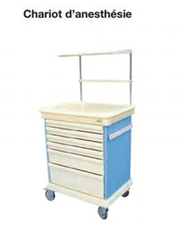 Chariot d'anesthésie et de réanimation - Devis sur Techni-Contact.com - 1