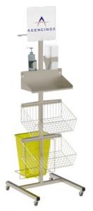 Chariot d'isolement médical - Devis sur Techni-Contact.com - 3