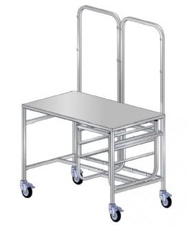 Chariot de conditionnement médical - Devis sur Techni-Contact.com - 1