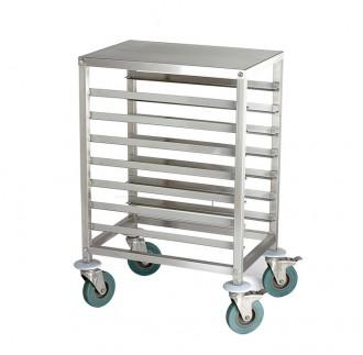 Chariot de cuisine à glissières en inox - Devis sur Techni-Contact.com - 1