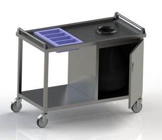 Chariot de débarrassage en inox - Devis sur Techni-Contact.com - 3