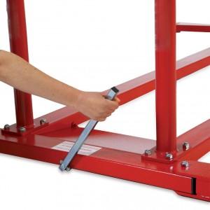 Chariot de déplacement escamotable barres asymétriques - Devis sur Techni-Contact.com - 2