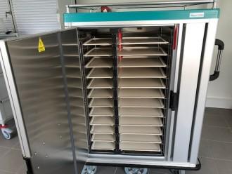 Chariot de distribution de repas chaud et froid - Devis sur Techni-Contact.com - 2