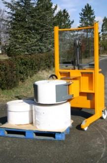 Chariot de manutention pour bobine - Devis sur Techni-Contact.com - 2