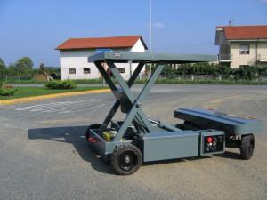 Chariot de manutention radiocommandé d'une portée de 5000 kg - Devis sur Techni-Contact.com - 1