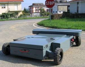 Chariot de manutention radiocommandé d'une portée de 5000 kg - Devis sur Techni-Contact.com - 2