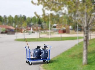 Chariot de rangement grillagé 500Kg - Devis sur Techni-Contact.com - 3