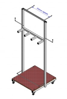 Chariot de rangement polyvalent - Devis sur Techni-Contact.com - 2