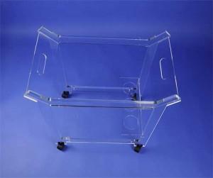 Chariot de service plexiglas - Devis sur Techni-Contact.com - 3