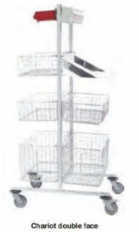 Chariot de stérilisation modulaire - Devis sur Techni-Contact.com - 2