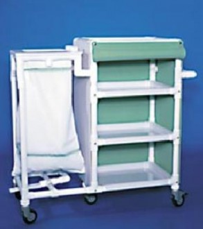Chariot de transport 4 étagères - Devis sur Techni-Contact.com - 1
