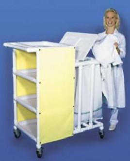 Chariot de transport à 4 étagères amovibles - Devis sur Techni-Contact.com - 1