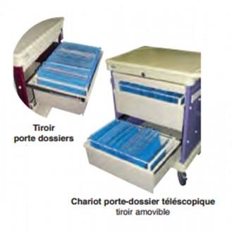 Chariot de visite pour dossier médical - Devis sur Techni-Contact.com - 1