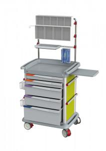 Chariot de soins et de pansements PRECISO - Devis sur Techni-Contact.com - 2