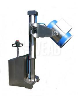 Chariot électrique de fûts - Devis sur Techni-Contact.com - 1